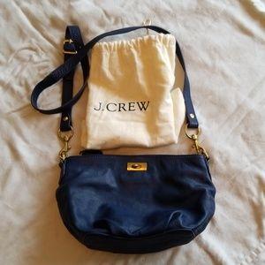 J. Crew slouchy crossbody leather bag